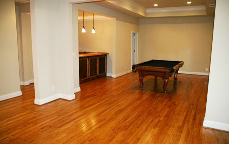 Basement Hardwood Flooring