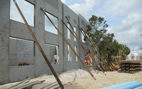 Tilt-Up Concrete Walls