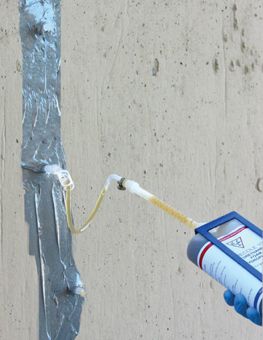 Epoxy Injection of Foundation Cracks