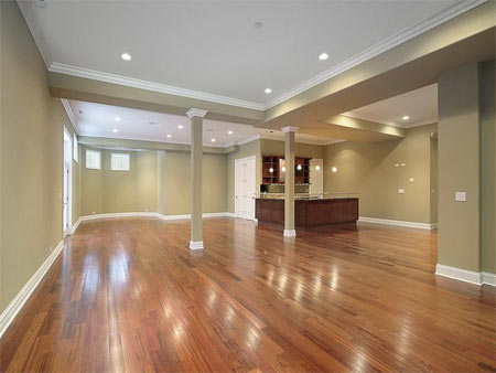 Hardwood Floors And Carpet Are Not Generally Recommended For Basements But With Proper Vapor Barriers And Insulation They Can Be Viable And Attractive
